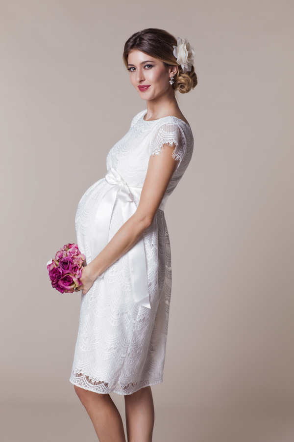 Zwangerschaps trouwjurk belgie